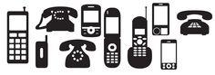 KLDezign les SVG: Des téléphones