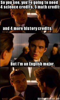 college degree major help english writing