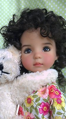 "Dianna Effner Little Darling Doll Full Set | eBay. This OOAK doll is painted by Dianna. Originally named ""Destiny"" and now Sally Sue, she has deep brown eyes, the Emily wig, and a sun-kissed complexion coloring. Just magnificent. Welcome to Sally Sue! :-)"