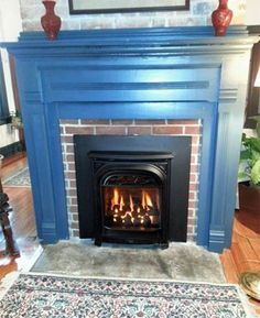 fireplace - PRESIDENT Gas Insert offers a historic flair for old ...