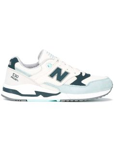 Blue leather 530  Encap  logo trainers from New Balance. Size  7. Gender   Female. Material  Leather Polyamide rubber.  d60083569