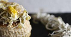 Cenar a base de canapés: 45 ideas para montar un menú de aperitivos Sushi, Recipies, Muffin, Brunch, Menu, Eggs, Snacks, Cooking, Breakfast