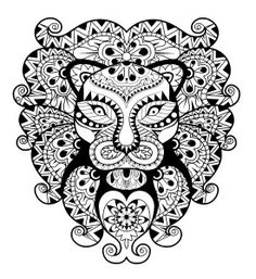 Lion Free Coloring Page