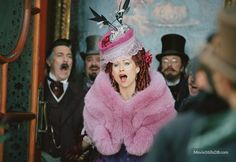 Even though Minnie Driver didn't do her singing voice, she was the perfect carlotta.