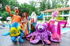 Детский праздник с Русалочкой и Нептуном. www.korporativka.com.ua 0675720092 Character, Art, Art Background, Kunst, Performing Arts