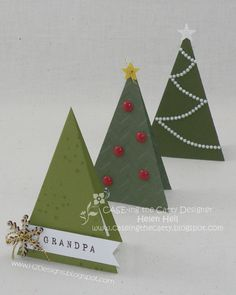 H2 Designs: CASE-ing the Catty #59 - Cutie Pie Christmas Trees