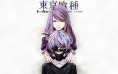 Rize Kamishiro Ken Kaneki Anime Full HD Wallpaper 1920×1200