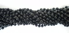 33 Inch 07Mm Round Black Mardi Gras Beads - 6 Dozen (72 Necklaces), 2015 Amazon Top Rated Necklaces #Toy