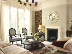 home interior living room classic modern