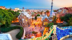 spain barcelona park hd wallpapers download