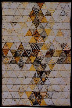 Steppdecke, reine Batik auf Baumwolle, Füllung Viscose, 130 cm x 200 cm
