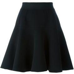 Dolce & Gabbana A-line pleated skirt