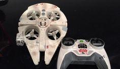 Lee Sueño hecho realidad: Disney crea un drone del Millennium Falcon