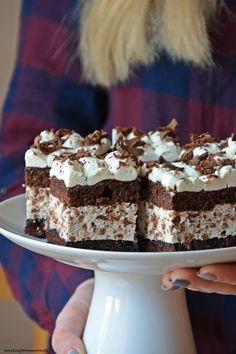 Searching for an Amaranth Sweet Recipes, Cake Recipes, Dessert Recipes, Eclairs, Polish Recipes, Piece Of Cakes, Food And Drink, Cooking Recipes, Yummy Food