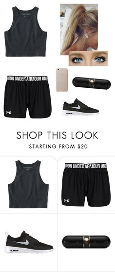 """""""Zumba Class"""" by jess1927 ❤ liked on Polyvore featuring Aéropostale, NIKE and Beats by Dr. Dre"""