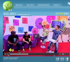 TV // GULLI Emission Gu'Live - Diffusion le 20 mai 2015  http://replay.gulli.fr/replay/video/emissions/gulive/VOD68295646590000