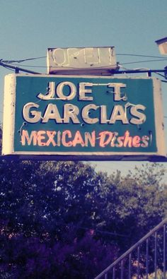 Joe T Garcia's- Ft. Worth, TX is so yummy. @Whitney Moore, this is the patio we went to when you visited.