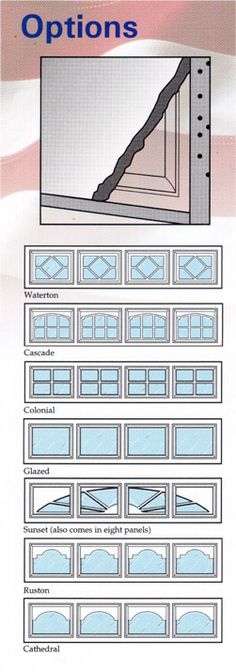 Feldco Garage Door Window Inserts Studio Ideas Pinterest
