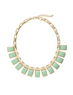 Colored Rectangles Necklace from THELIMITED.com $39.95