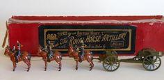 Britains Set #316 Royal Horse Artillery at the Halt with escort and officer. Est. $2,500-$3,500.