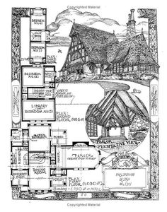 The Affordable House: David John Carnivale Victorian House Plans, Vintage House Plans, Victorian Homes, Architecture Drawings, Architecture Plan, Dream House Plans, House Floor Plans, Building Plans, Building A House