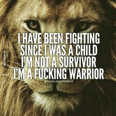 Exclusive IPac T-shirt! - Im a fucking warrior! - Fight for your Second Amendment rights with our exclusive IPac T-shirt! Grab your FREE T-shirt below. Lion Quotes, Me Quotes, Motivational Quotes, Inspirational Quotes, Witty Quotes, Quotes Positive, Queen Quotes, Strong Quotes, Positive Life