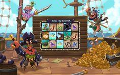 Slots Blast - Facebook game by Eran Michalovitz, via Behance