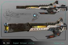G-Force's EML-200X Super Photon Sniper Rifles by SolGravionMegazord