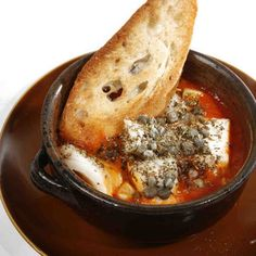 This recipe for baccala (cod baked in spicy tomato sauce) comes courtesy of chef Pasquale Martinelli of Bellavitae restaurant.