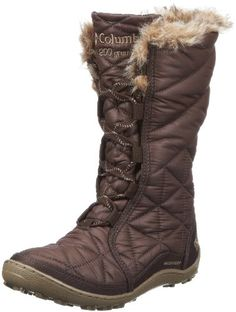 Columbia Womens Minx Mid Snow BootCordovan65 M US *** Learn more by visiting the image link.
