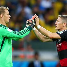 Manuel Neuer 'sad' at Bastian Schweinsteiger's Man United absence