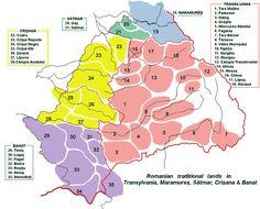 Romanian Traditional Lands in Transylvania