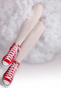 promo code 592ae 20f18 Blanco Y Rojo, Negro, Zapatos, Converse All Star, Converse Rojos, Zapatos
