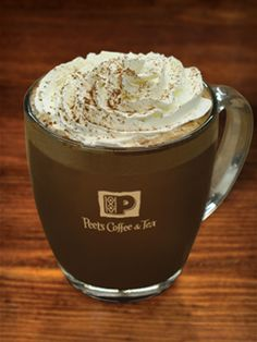 Mayan Chocolate Mocha | Peet's Coffee & Tea. I miss going to this place every morning when I was working at WSUV!