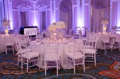 Modern Chic White Wedding // photo by  Carrie Wildes Photography