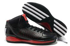Adidas Adizero Rose 3.0 Derrick Rose Shoes Black Red White 987b0119f