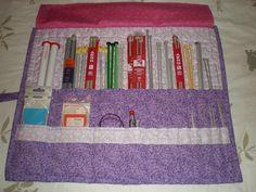 knitting needle case tute on the charming needle