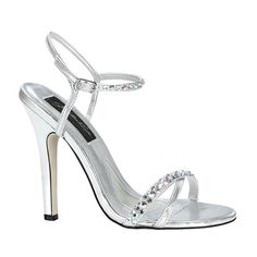 Johnathan Kayne by Benjamin Walk Women's Tahiti Shoes Synthetic Silver