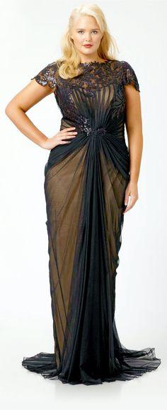 Chiffon Goddess Dress Plus Size Style Inspiration Apparel Clothing Design #UNIQUE_WOMENS_FASHION