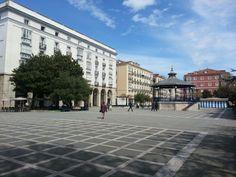 Plaza Pombo en #Santander en #Cantabria | #Spain
