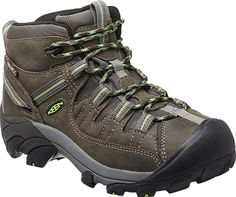 Womens Targhee II Mid Shoes by KEEN - The Targhee Mid II from KEEN offers four-wheel-drive performance for your feet.