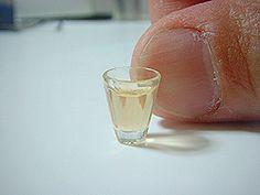 Let's make!6 レジン(樹脂)で ミニチュアグラスの作り方