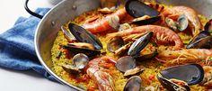 Paella light com menos calorias. Veja a receita http://luciliadiniz.com/paella-light/