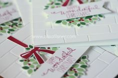 Wondrous Wreath Christmas Stamp a Stack by Mail - Alisa Tilsner