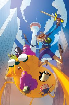 Adventure TIme Calgary Expo Exclusive Cover by Sho Uehara, via Behance