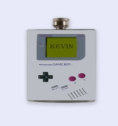 Gameboy game boy Personalized Custom Flask game boy by RKGrace, $19.50