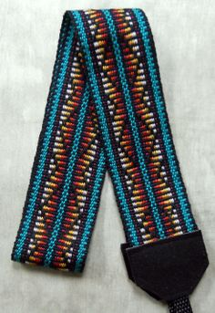 camera strap by Becka Pinned by Minnesota Fiber Arts Guild