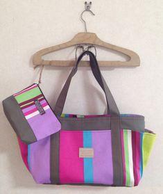 4つポケットトートバッグ実物大型紙ダウンロード: 無料型紙ダウンロード集 Pouch, Wallet, Handicraft, Diaper Bag, Diy And Crafts, Applique, Weaving, Shoulder Bag, Handbags