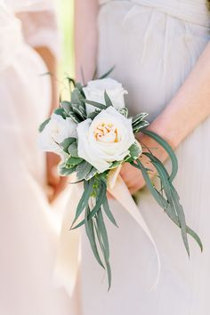 Sweet garden rose bouquet: http://www.stylemepretty.com/2015/03/16/romantic-and-ethereal-wedding-inspiration/ | Photography: Julie Livingston - http://www.julielivingstonphotography.com/