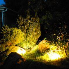 #iluminación #LED para el #jardín #lighting #garden